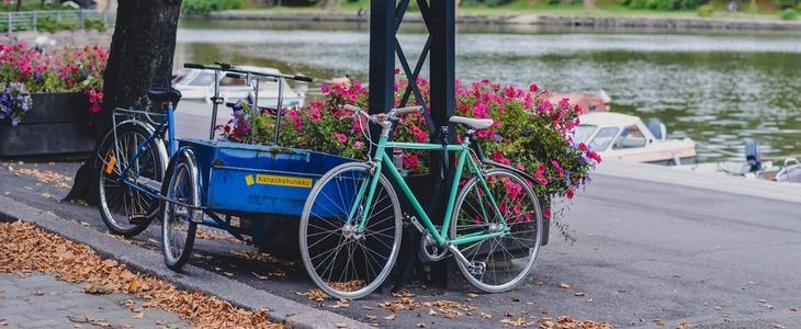 Взять напрокат велосипед
